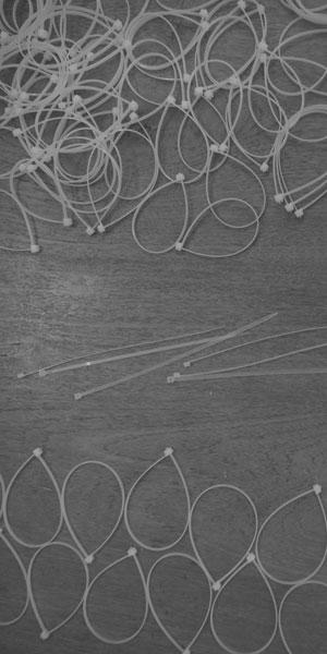 Tie-wraps-taglio